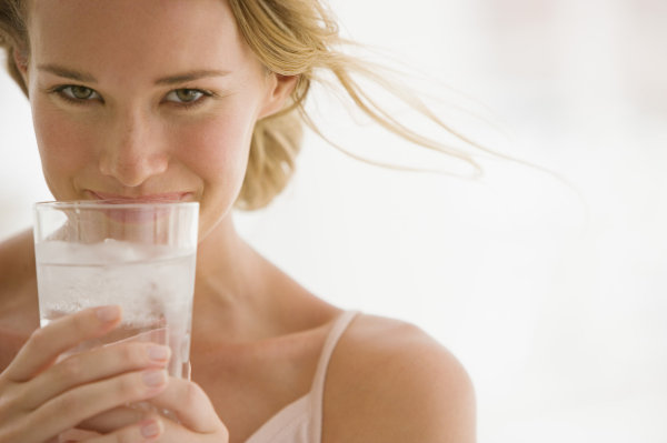 drinking enough water protects your smile