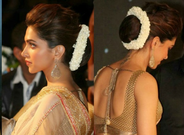 deepika_padukone_hairstyle_with_flowers