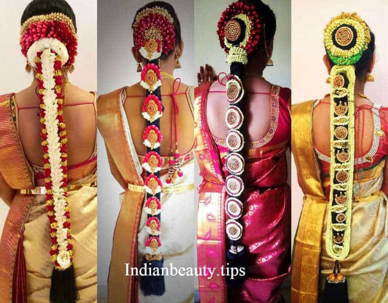 20 Gorgeous South Indian Wedding Hairstyles Indian Beauty Tips