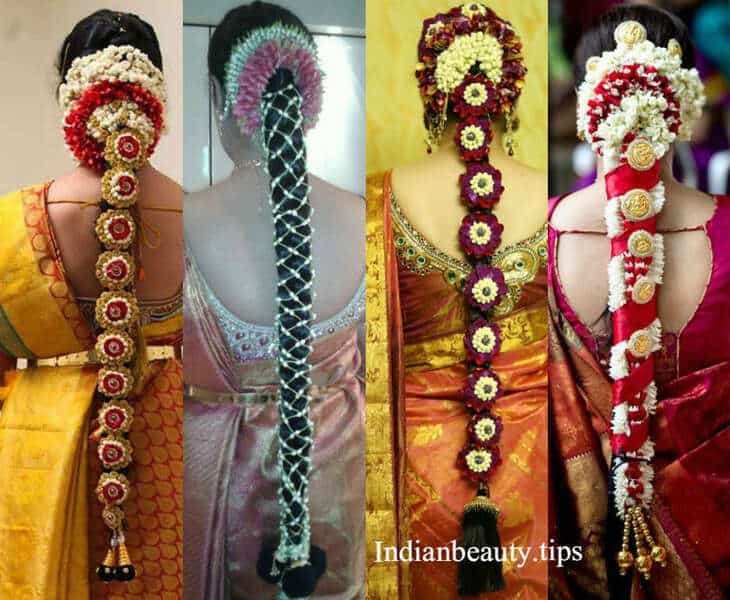 traditional marriage hair styles 20 gorgeous south indian wedding hairstyles indian 5337