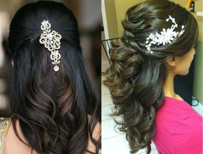 20 Best Hairstyles For Lehenga To Adorn This Wedding Season