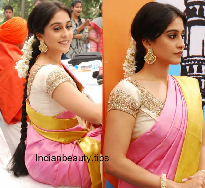 Superior Indian_hairstyles_for_traditional_sarees