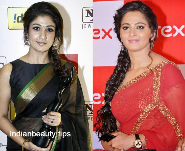 Amazing 12 Best Hairstyles For Party Wear Sarees Indian Beauty Tips Short Hairstyles Gunalazisus