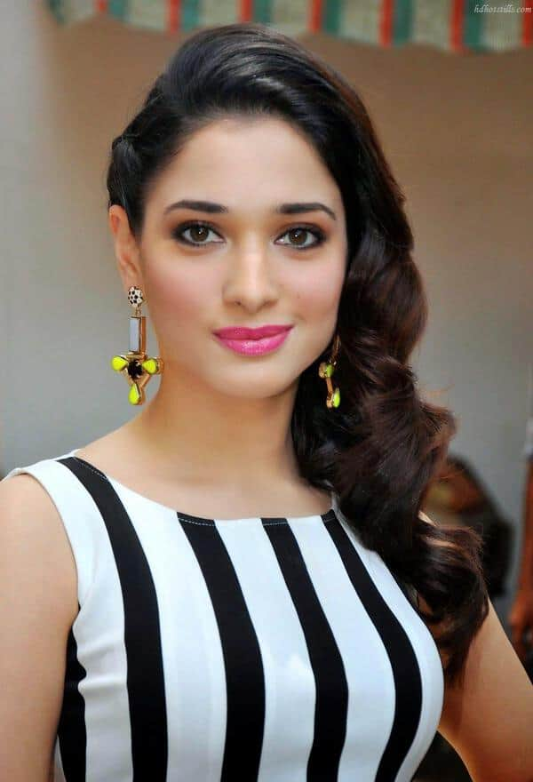Tamanna Photo Gallery: Top 10 Party Wear Hairstyles For Medium Length Hair