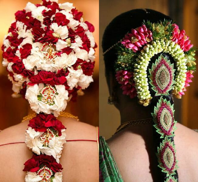 Marvelous 40 Beautiful South Indian Wedding Hairstyles Indian Beauty Tips Short Hairstyles Gunalazisus