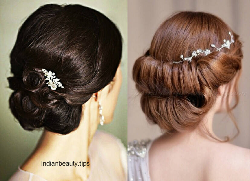 30 elegant bridal updo hairstyles indian beauty tips large braided bun hairstyle bridalupdobunhairstyles chic updos braidedupdohairstyles bridal updo hairstyles bunhairstyle pmusecretfo Gallery