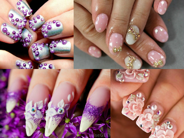 10 Nail Art Designs Trending In 2015 Indian Beauty Tips