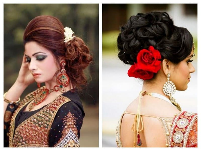 festive look hairstyles for sarees   indian beauty tips