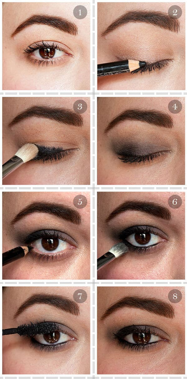 Smokey Eyeshadow Tutorial: Style Guru: Fashion, Glitz, Glamour